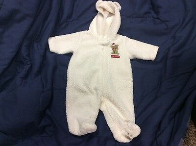 Baby's  First Christmas Bear Sleeper Size 3 months