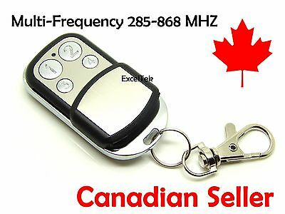 Garage Remote Multi-Frequency Control Duplicator 315 418 433 868 MHz