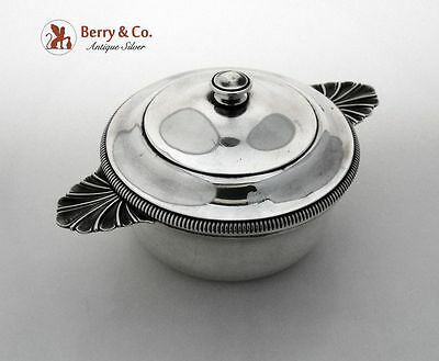 French Sterling Silver Covered Dish 1900 G Keller Paris