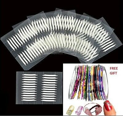 120/240/480 Double-sided Invisible Thin Eyelid Clear Adhesive Sticker Tape +GIFT