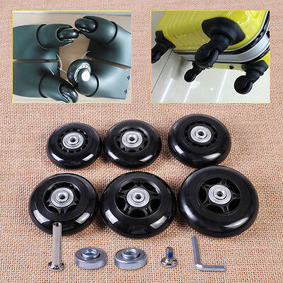 Luggage Inline Skate Wheel Suitcase Replacement Repair OD 60/64/68/70/75/80mm