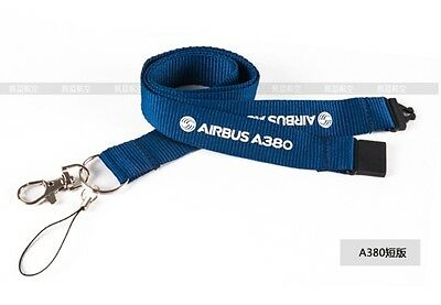 Lanyard.5. Airlines AIRBUS A380 LOGO Short Version Lanyard
