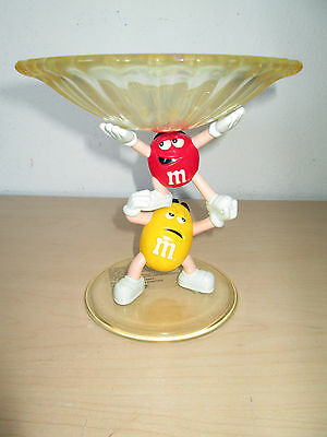 """Vintage M&m's Candy 7"""" Candy Dish. Mars."""