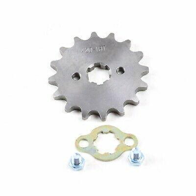 Engine Sprocket 15 Tooth Fit Mini Bike Go Cart Kart 17mm 420-15T 420 Chain