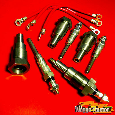 GPK4405 Glow Plug Kit International B275 A414 B414 Tractor IH BD144 BD154 Engine