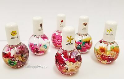 Blossom Scented Cuticle Oil - Infused with real Flowers - 0.5oz
