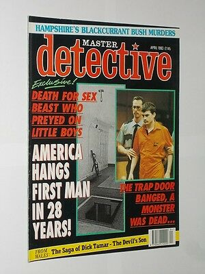 Master Detective April Issue 1993.
