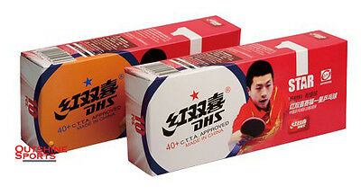 DHS 40+ 1 Star new plastic with seam Table Tennis Ball