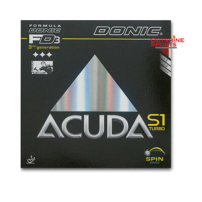 Donic latest Rubber! DONIC Acuda S1 Turbo Table Tennis Rubber