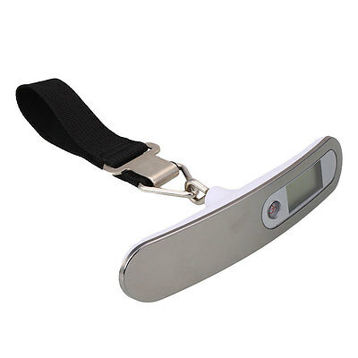 50kg/10g Portable Pocket LCD Digital Luggage Scale Travel Hanging Weight