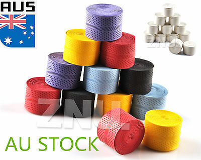 10PCS Tennis Badminton Squash Racket Grip Perspiration Tape Sweatband Overgrip