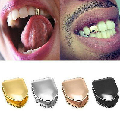ONE Tendy Rock Hip Hop Teeth Single Tooth Solid Grillz Grill Caps Mold Kit hs