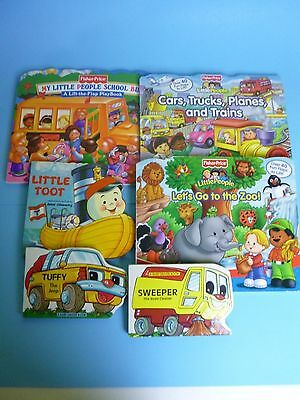 Lot of 6 Children's Board Books FREE SHIPPING