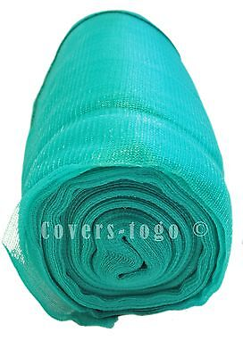 Green Debris Netting 2M X 50M Scaffolds Garden Allotments Net