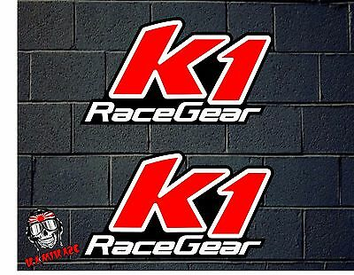 Pegatina Sticker  Adesivi Aufkleber Decal Adesivo Autocollant K1 Race Gear