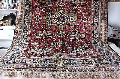 Antique Printed Cotton Velvet Persian Ethnic Home Dec Textile Fabric c1890-1900