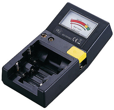 Universal Battery Tester for AA AAA C D 9V Batteries - BRAND NEW