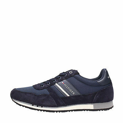 Scarpa shoes sneaker uomo Tommy Hilfiger Maxwell blu midnight 2017 lotto colmar