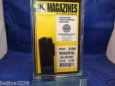 Magazine for MOSSBERG 340 & 350 10 ROUNDS 22LR Western Field 832 mag clip US
