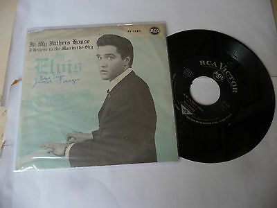 "ELVIS PRESLEY"" IN MY FATHERS HOUSE-disco 45 giri  RCA Den 1959-47-1116"""
