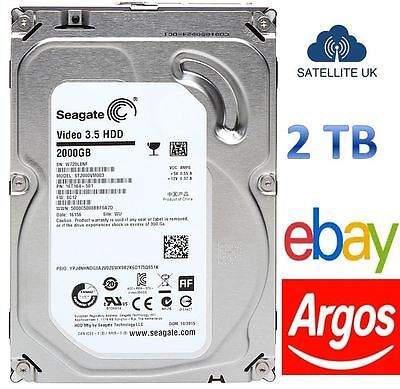 Seagate Pipeline HD (2TB) 3.5 inch Hard Drive (5900rpm) 6Gb/s SATA 64MB