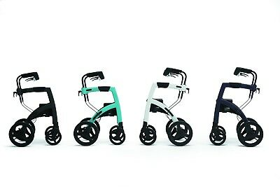 Rollz Motion Dual Use Rollator & Wheelchair in 1 Footrests - 4 Colours
