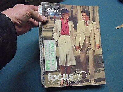 Vintage 1980 Montgomery Ward Spring and Summer Catalog Charlie's Angels Fashions