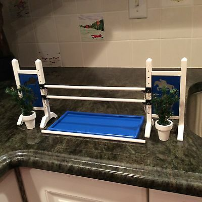 LSQ Mighty Minis Model Horse Jump Accessory Jump Liverpool For Breyer + Models