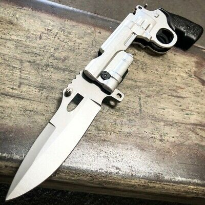 "8.5"" Black Fixed Blade Tactical Hunting Knife with Paddle ABS w/ Belt Sheath NEW"