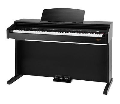 39142 Piano Digital Electronico Negro Mate Classic Cantabile Dp-210 Rh