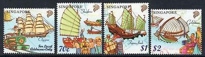 SINGAPORE MNH 1999 SG980-3  Merchant Ships of the 19th Century