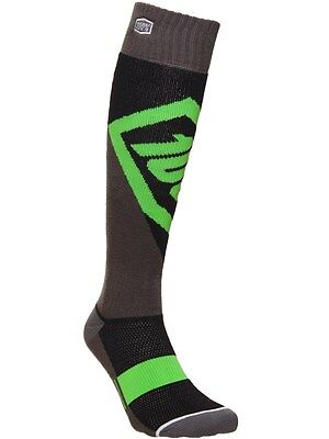 100 Percent Lime Torque MX Socks