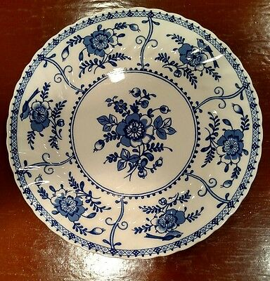 Johnson Brothers England Blue Indies Dinner Plate