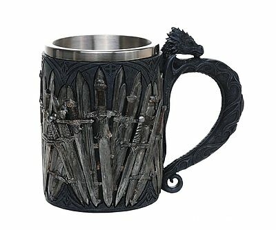 Legends of the Swords Game of Thrones Dragon Mug Tankard 13oz