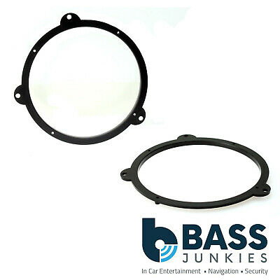 "BMW 3 Series E46 Convertible 17cm 6.5"" Car Front Door Car Speaker Rings Brackets"