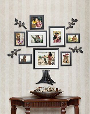 13 pc family tree wall photo frame set hanging frames picture home decor collage