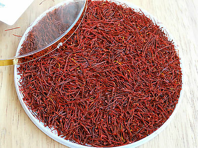 5 Gram 100% Pure Genuine Royal Quality Saffron Spice, Grade I, free UK delivery