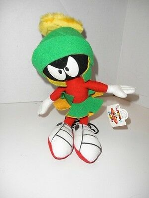"NWT Applause Looney Tunes Marvin Martian 12"" Plush 1994 Warner Bros."