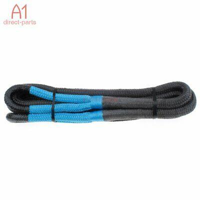 "Authentic! SNATCH 20' X 3/4"" KINETIC RECOVERY ROPE TOW STRAP 19,000 Lbs Blue Eye"
