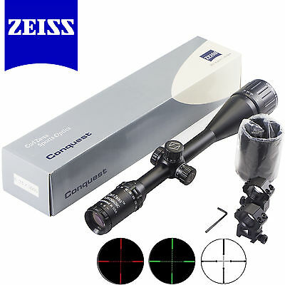 ZEISS Conquest 6-24x50AO Illuminated Hunting Rifle Scope HD Sight FREE Mount