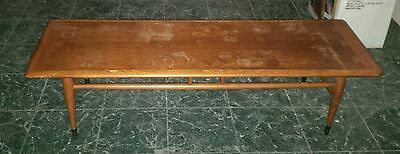 Lot of 3: Vintage Mid Century Lane Coffee table End Tables