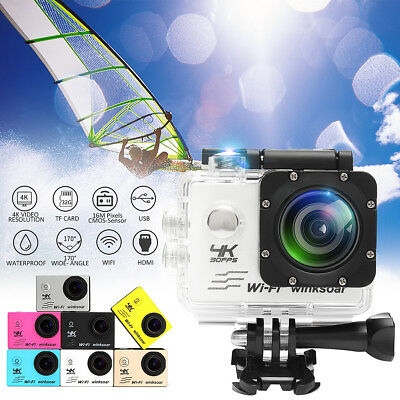 SJ8000 Sports Action Camera Waterproof 1080P 16MP 4K WiFi 170°
