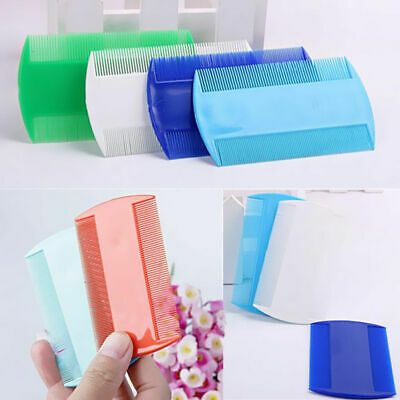 2pcs Double Sided Nit Comb Fine Tooth Head Lice Hair Combs for Kids Pet Flea