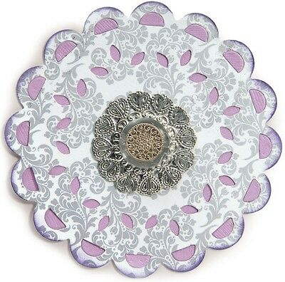 Sizzix Large Cutting Die  ~Doily Lace Medallion