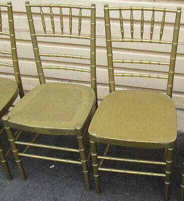 54339   Set 8 Bamboo Decorator JACKSON Furniture Dining Room Chairs Chair s