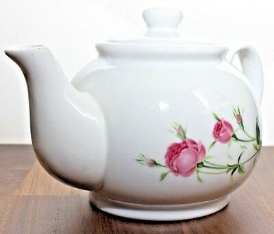 Vintage Christineholm Porcelain Rose Tea Pot