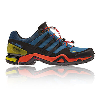 Adidas Terrex Fast R Mens Blue Black Gore Tex Waterproof Walking Hiking Shoes