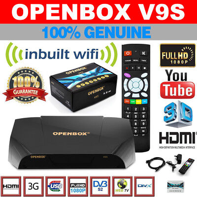 GENUINE OPENBOX V8S Freeview HD TV Satellite Receiver Channel Box for Skybox F5S