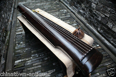"""48"""" Professional Guqin Chinese 7-stringed zither instrument Shen nong STL #4079"""