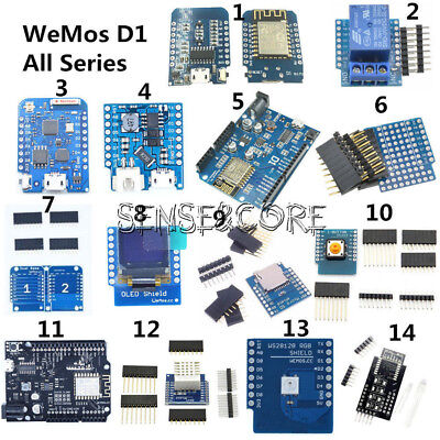 WeMos D1 Mini ESP8266 ESP 12F DHT22 AM2320 CP2104 CH340 Wifi Module For NodeMCU